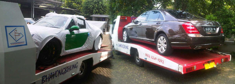 Derek Gendong Mobil dan Motor Besar